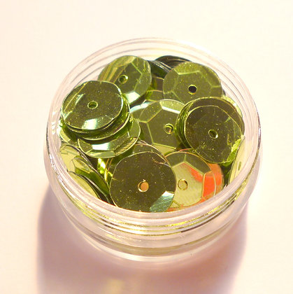 10mm Sequins :: Lime