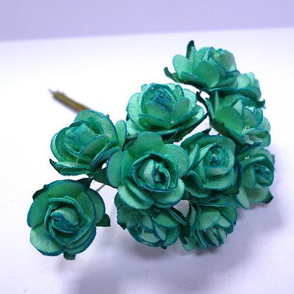 Paper Roses :: Aqua