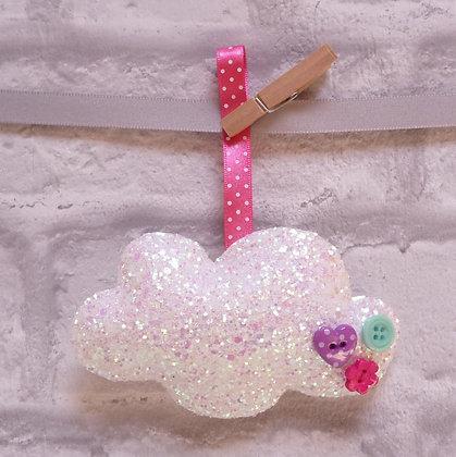 Handmade :: Fluffy Cloud :: M Chunky Glitter