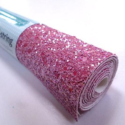 Medium Glitter roll :: Raspberry