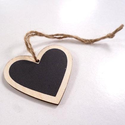 Blackboards :: Hanging Heart Small
