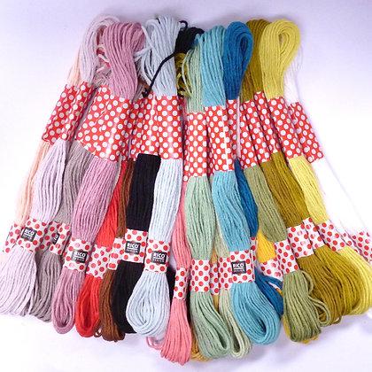 Rico Embroidery Threads :: Fashion Colours x24