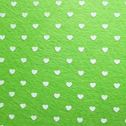 Heart Felt Square :: LIME