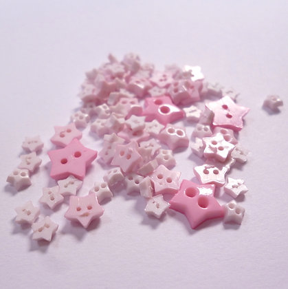 Pack of Tiny Stars :: Pink