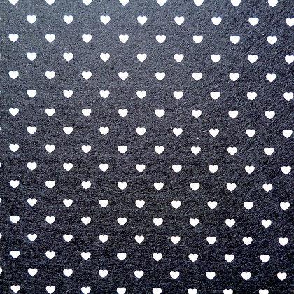 Heart Felt Square :: BLACK