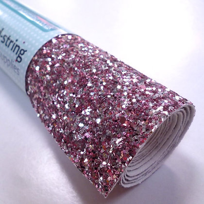 Chunky Glitter roll :: Mixed :: Sparkle Rose