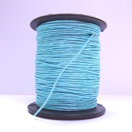 Faux Leather Cord ::Turquoise
