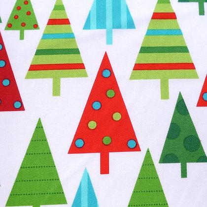 FQ SALE Fabric :: Jingle :: Trees FAT QUARTER