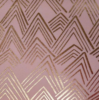 Fabric :: Wide Alpaca Mountain :: Blush Mountains