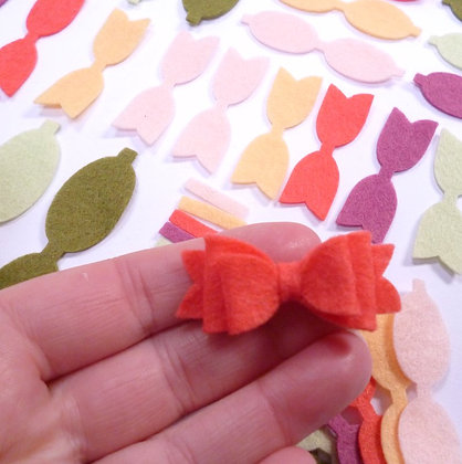 Die Cut Pack :: Mini Bows :: Anemone