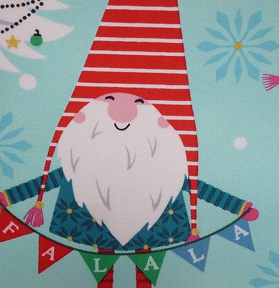 Fabric :: Snowglobe :: Aqua Elf