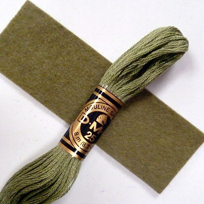 DMC Embroidery Thread :: Moss (3364)
