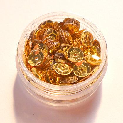 7mm Sequins :: Gold