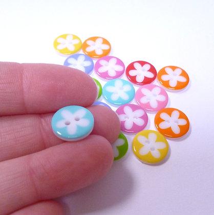 Bright Flower Pack & White Flower Middles