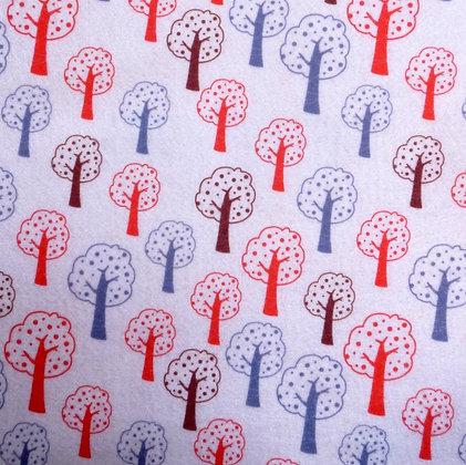 Soft Printed Felt :: Forest