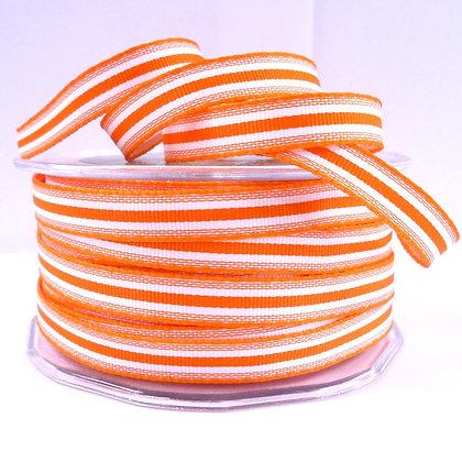 "3/8"" Stripe Ribbon :: Orange"