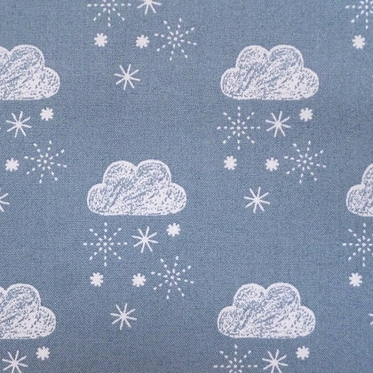 Fabric :: Laska :: Snow Clouds