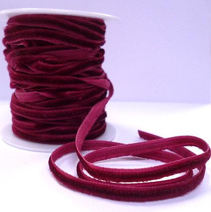 5mm velvet ribbon spool :: Burgundy