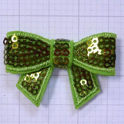 Sparkle Bow :: Medium :: Grass Green