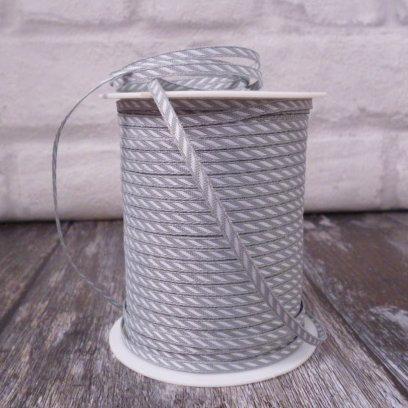Candy Cane Twist Ribbon :: Grey