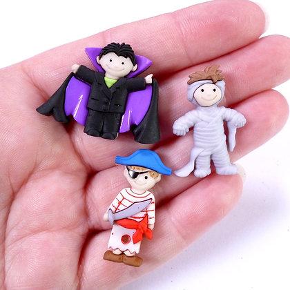 Fantastic Button Packs :: Ghoulies & Ghosties Boy