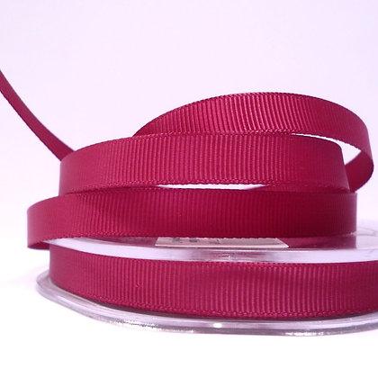 10mm grosgrain :: by the metre :: Burgundy