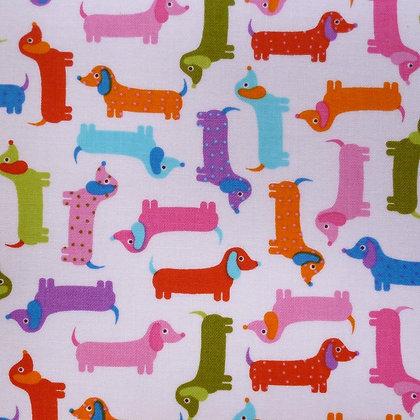 Fabric :: Zoologie :: Mini Sausage Dogs