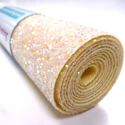 Chunky Glitter mini roll :: Lemon Sorbet