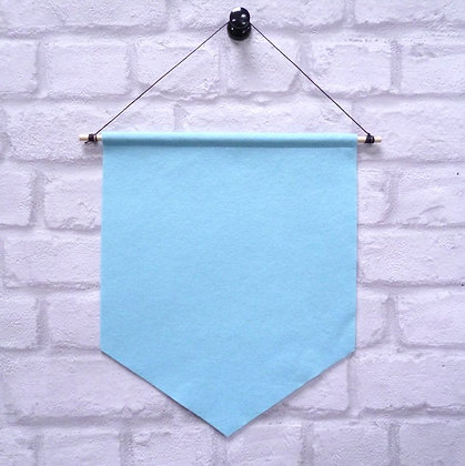 Ice Blue :: Handmade banner for you to decorate