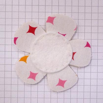 Harlequin Diamond :: Med Flower :: Handmade Embellishment