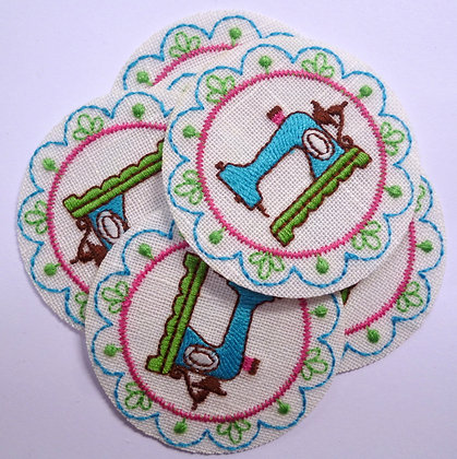 Embroidered Motif :: Sewing Machine