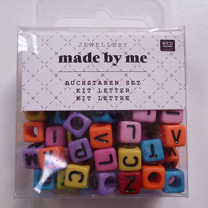 Alphabet Beads :: Bright Cubes