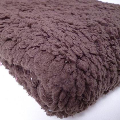 Lamb Fur Fabric :: Brown