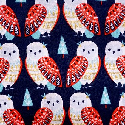 Fabric :: Skogen :: Owls