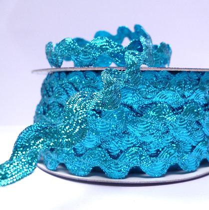 Metallic Ric Rac :: Turquoise