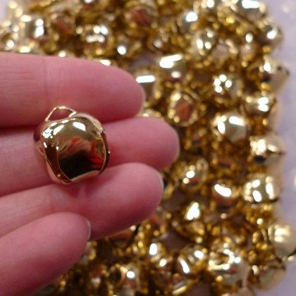 Jingle Bell :: Large 15mm Gold