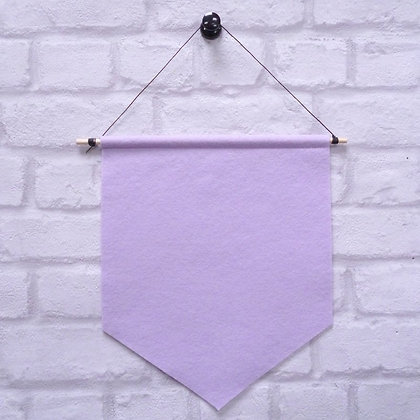 Mauve :: Handmade banner for you to decorate