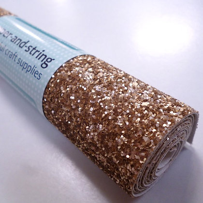 Medium Glitter roll :: Matt :: Gold