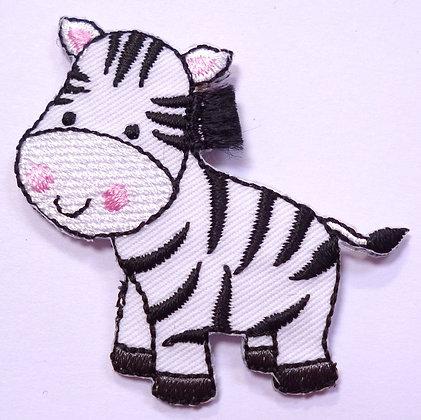 Embroidered Motif :: Safari :: Zebra