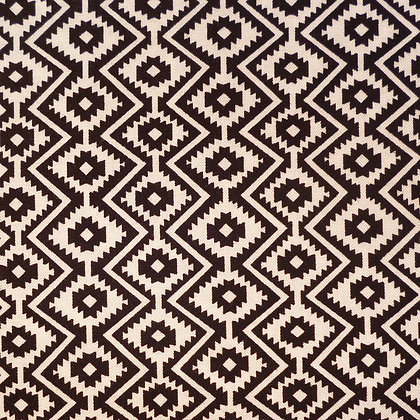 Fabric :: Llama Christmas :: Little Eduardo (black & white)