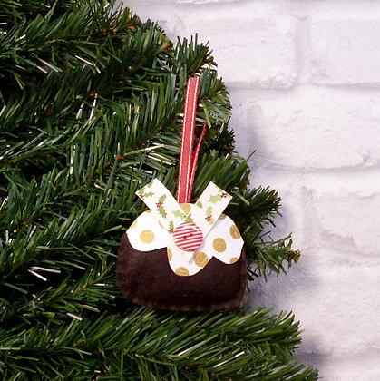 Christmas Pud (Traditional) Christmas Decoration Kit