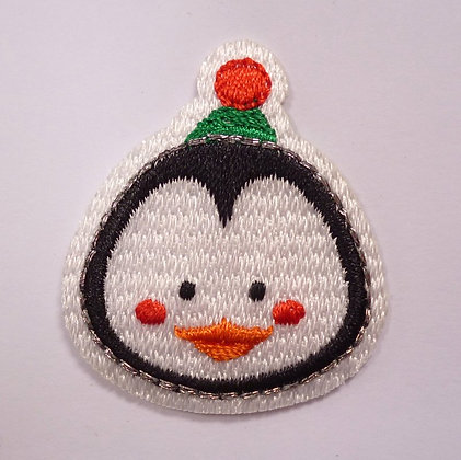 Embroidered Motif :: Cute Christmas :: Penguin