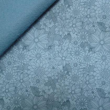 Fabric Felt :: Junglemania :: Sigrid on Sky Blue