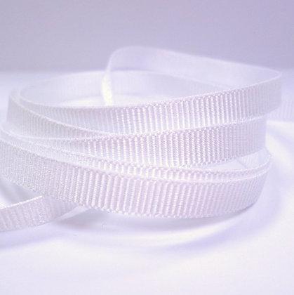 6mm Grosgrain Ribbon :: White (9401)