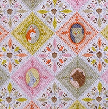 Fabric :: Born Wild :: Patchwork Pin