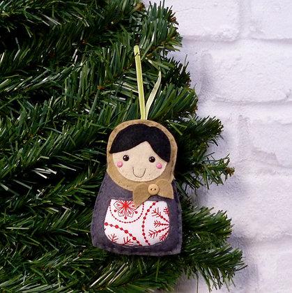 Russian Doll :: Scandinavian Christmas :: made to order