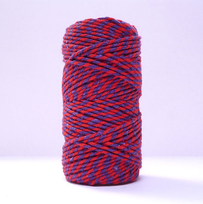 Baker's Twine MultiColoured 20m :: Red & Plum