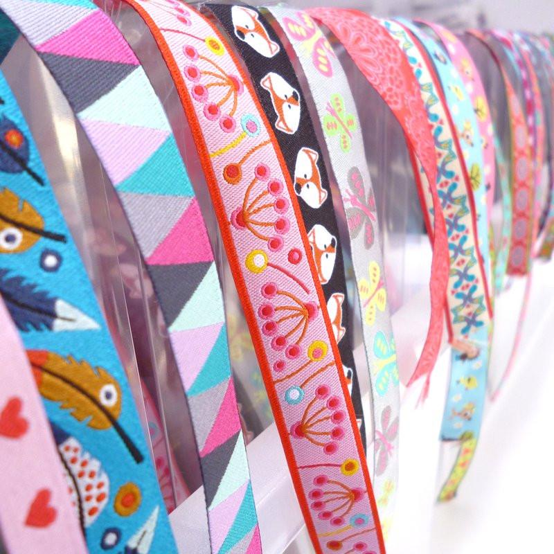 pattern ribbons