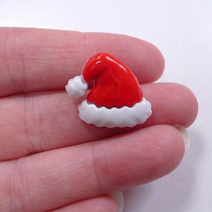 Santa's Hat Button