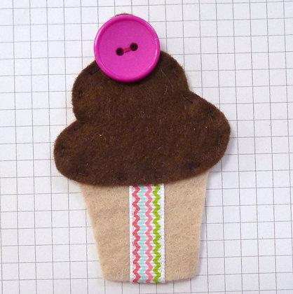 Bournville :: Grande  Cupcake :: Handmade Embellishment